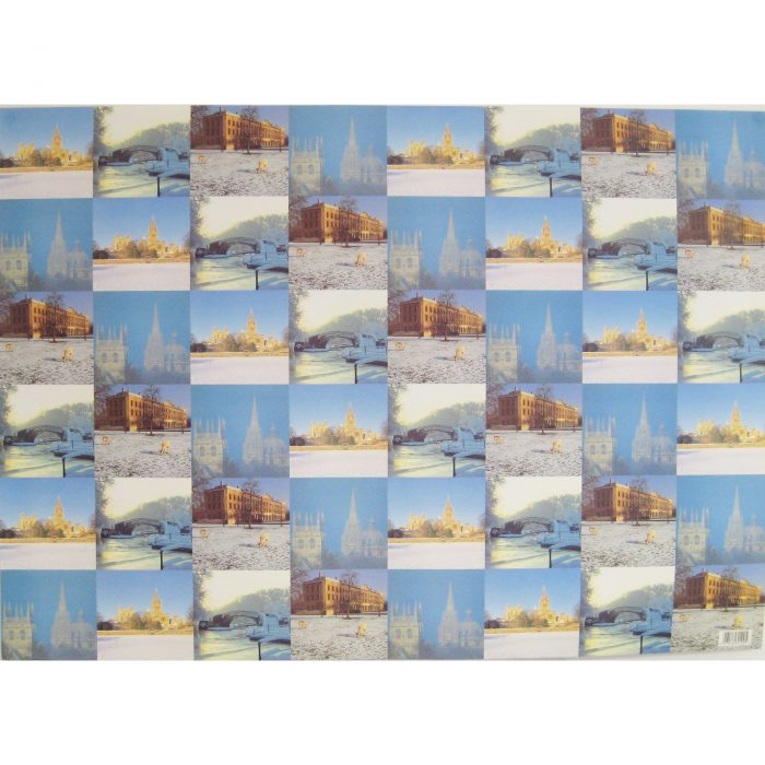 Oxford spires wrapping paper