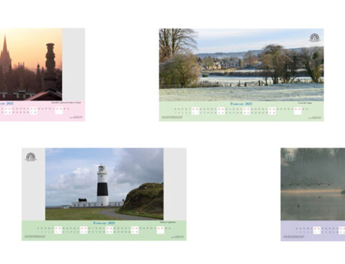 February 2021 Digital Desktop Calendar