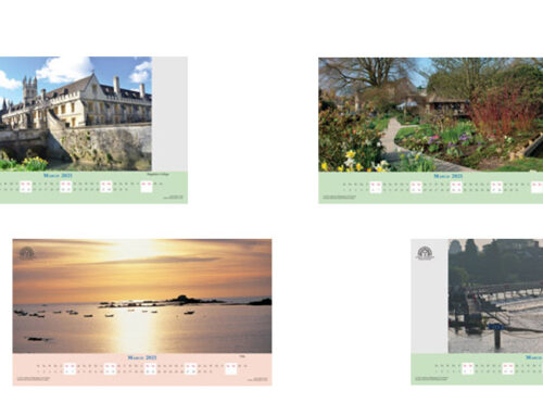 March 2021 Digital Desktop Calendar