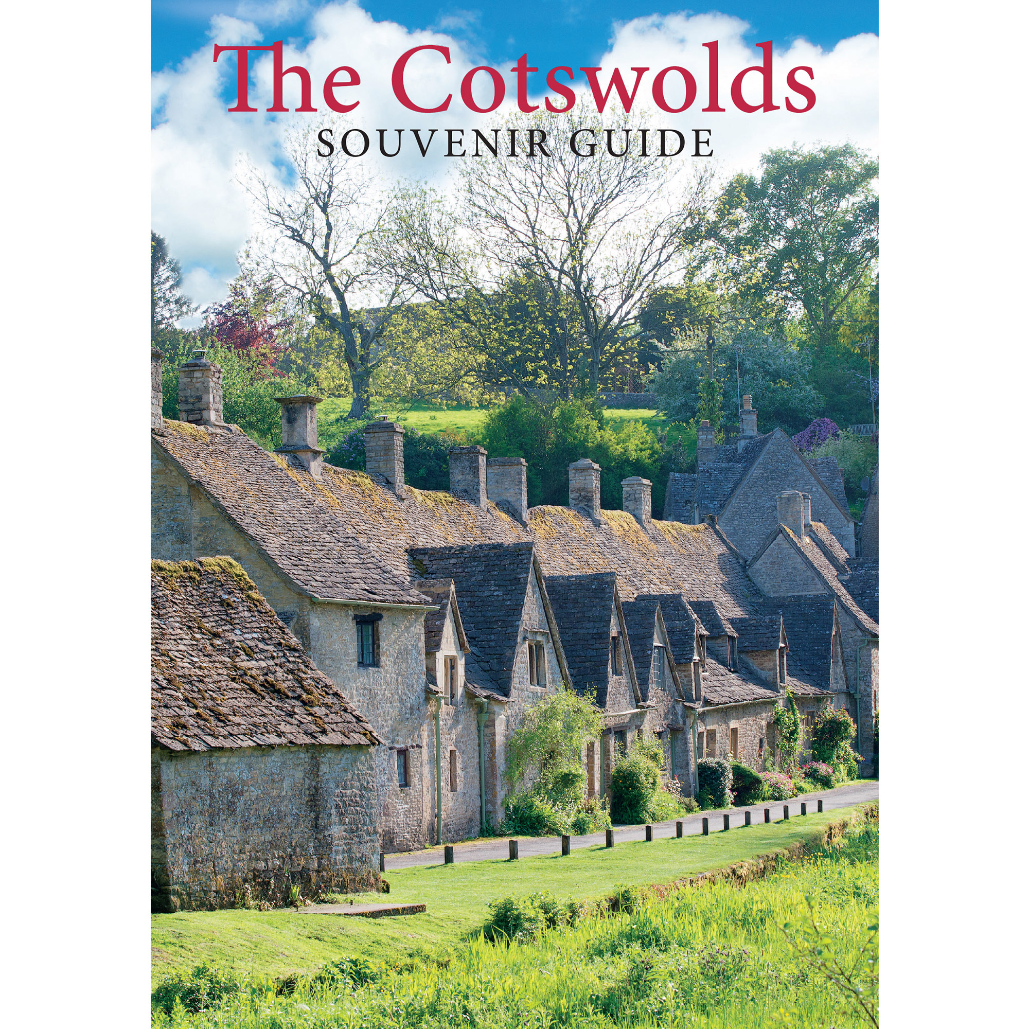 The Cotswolds Souvenir Guide - front cover