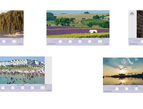 August 2021 Digital Desktop Calendar